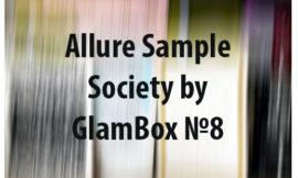 Allure Sample Society by GlamBox №8. Отзыв, обзор.