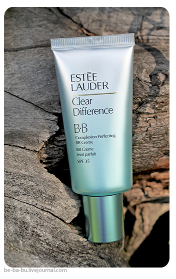 Estee Lauder Clear Difference Complexion Perfecting BB Creme SPF35. Отзыв, обзор, свотчи. review. swatch. Ingredients