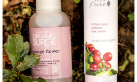 100% Pure – Coffee Bean Eye Cream, Organic Surge – Orange Flower Toner. Обзор, отзыв.