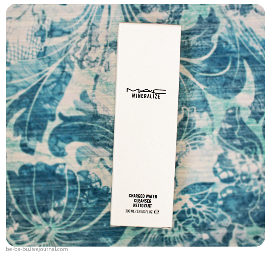 Вода для снятия макияжа с минералами MAC Mineralize Charged Water Cleanser. Отзыв, обзор.