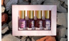 Набор лаков Ruby Wing, Cupcakes And Champagne Mini Kit. Обзор, отзыв, свотчи.