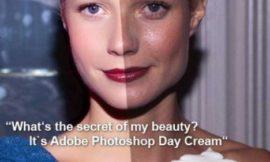 Лучший крем для лица это – фотошоп. Проверено на звездах)