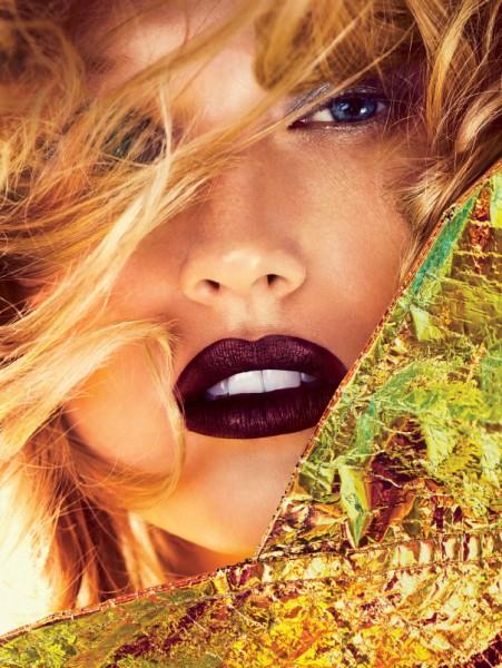 Тенденции макияжа: насыщенный цвет губ. Тони Гаррн в Allure Magazine