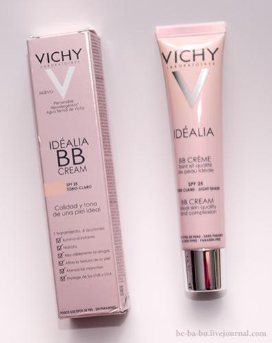 Vichy — Idealia BB-Cream SPF 25 Light. Отзыв.