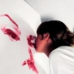 Помада как холст, а губы как кисть: как нарисовать картину при помощи поцелуя