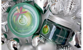 Желе для ванны Glazed Apple Bath Jelly и масло для тела Glazed Apple Body Butter от The Body Shop