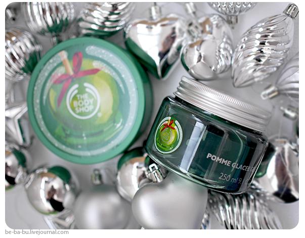 Желе для ванны Glazed Apple Bath Jelly и масло для тела Glazed Apple Body Butter от The Body Shop. Отзыв, Review, Ingredients