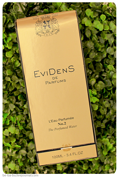 Evidens de Beaute – The Perfumed Water No.2. Отзыв, обзор, review