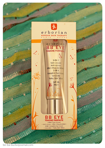 ББ-крем для глаз Erborian BB Eye Touche Parfiate 3-in-1 Comlete Eye Cream Concealer SPF 25. Отзыв.