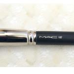 MAC Duo Fibre Brush 187 – одна из самых необходимых кистей для макияжа. Отзыв, обзор, review.