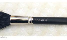 MAC Duo Fibre Brush 187 — одна из самых необходимых кистей для макияжа. Отзыв, обзор, review.
