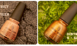 China Glaze Hunger Games Collection – Dress Me Up, Harvest Moon. Отзыв, свотчи, review, swatch.
