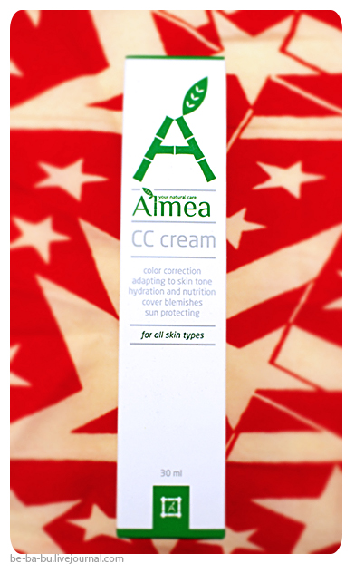 Almea — CC cream light. Отзыв, обзор, свотчи.
