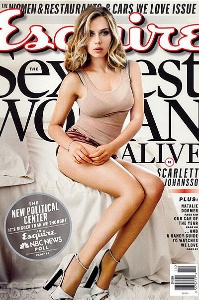 Скарлетт Йоханссон Esquire sexiest woman alive