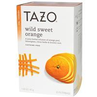 Любопытное с Iherb – Tazo Teas, Wild Sweet Orange, Herbal Tea. Отзыв.