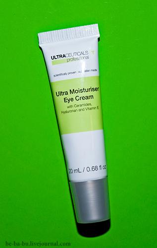 Ultraceuticals — Ultra Moisturiser Eye Cream. Отзыв.