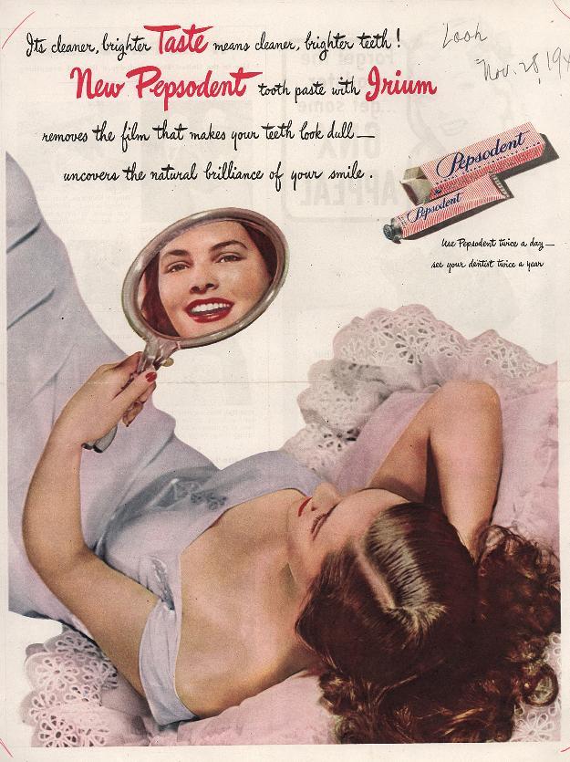 Как реклама изменила привычки женщин