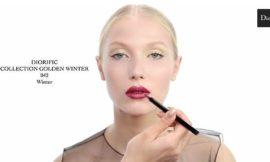 Мастер-класс по новогоднему макияжу от Dior