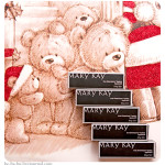 Mary Kay. True Dimensions – Natural Beaute, Sienne Brulee, Firecracker, First Blush, Tuscan Rose.