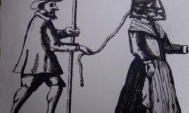 Средневековый прибор против женской болтовни — Scold's bridle