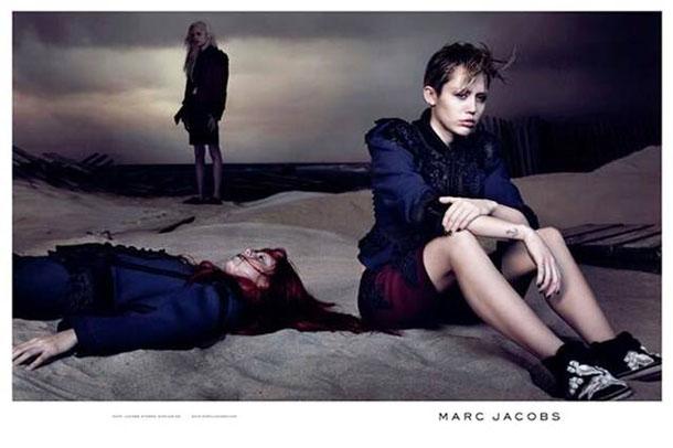 Майли Сайрус в рекламе новой коллекции Marc Jacobs