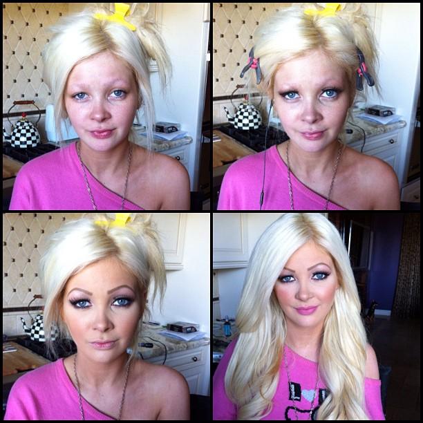 Порнозвезды до макияжа