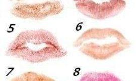 О чем говорят ваши губы? Тест.