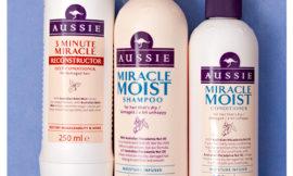 Шампунь, кондиционер и маска Miracle Moist от Aussie. Обзор, отзыв.