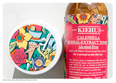 Kiehl's — Ultra Facial Cream, Calendula Herbal-Extract Alcohol-Free Toner. Отзыв, обзор.
