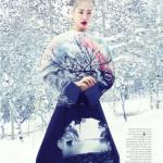 """Снежный ангел"" Су Джу Парк"