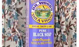 Dr. Woods, Shea Vision, Pure Black Soap with Organic Shea Butter. Обзор, отзыв.