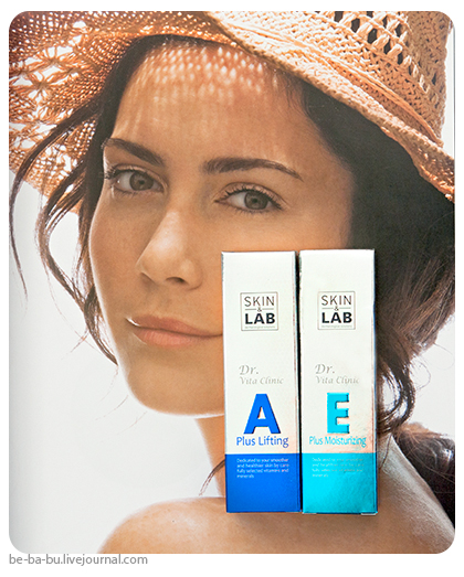 Skin&Lab — Е plus moisturizing cream, A plus lifting cream. Обзор, отзыв.
