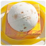 Янтарный бурлящий шар для ванны от Stenders. Обзор, отзыв.