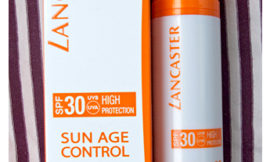 Lancaster Sun Age Control SPF 30. Обзор, отзыв.