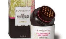 Bare Minerals Pure Transformation Night Treatment: пудра, с которой можно и полезно спать