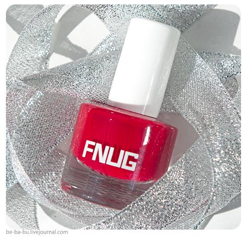 Лак для ногтей Fnug №50 - Red Carpet. Обзор, отзыв, свотчи.
