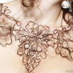 Ожерелья из волос