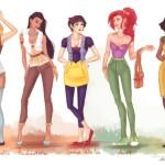 Идеи гардероба: мастер-класс от диснеевских принцесс