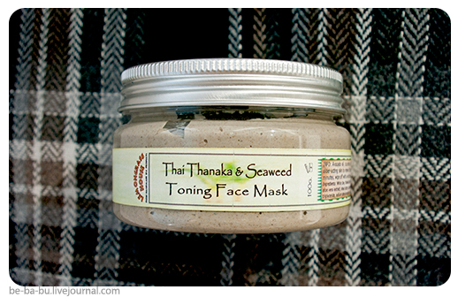 Маска для лица «Танака и морские водоросли» от Lemongrass House. Обзор, отзыв.