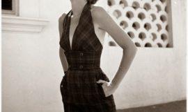 Красивые девушки и модные наряды эпохи 1940-х