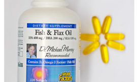 Полезное с iHerb: Рыбий жир+льняное масло от Natural Factors, Fish & Flax Oil. Обзор, отзыв.