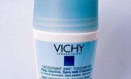 Дезодорант шарик Vichy ультраабсорбирующий для чувствительной кожи 24 часа. Отзыв.