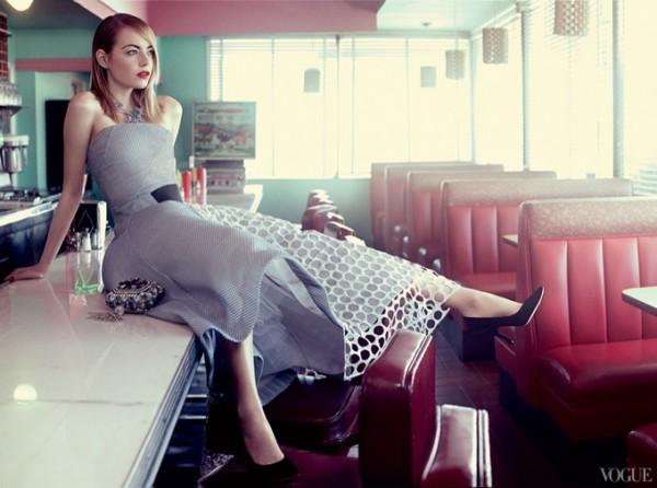Эмма Стоун в Vogue US