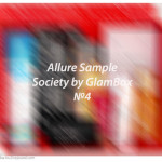 Allure Sample Society by GlamBox №4. Отзыв, обзор.