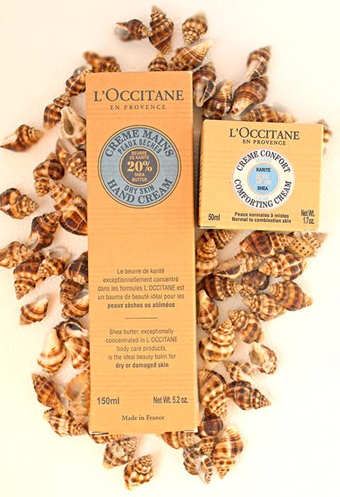 L`Occitane - Легкий крем-комфорт для лица Карите и крем для рук Карите. Отзыв