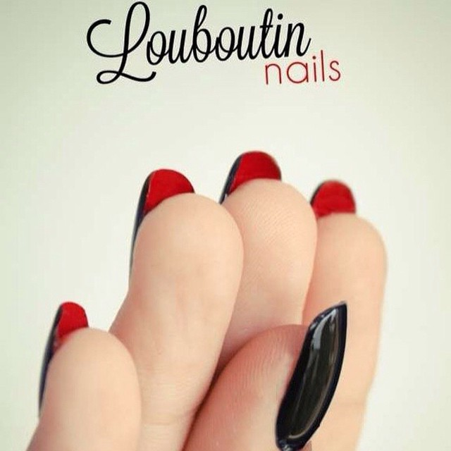 тренд-в-маникюре-louboutin-nails