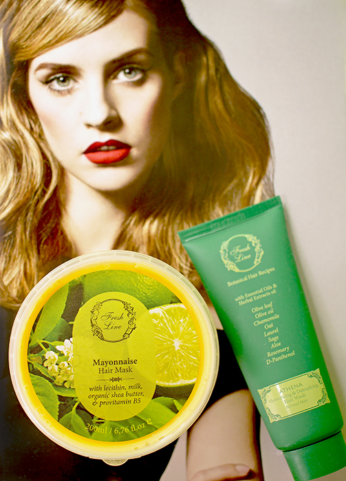 Fresh Line –шампунь-Афина-майонезная-маска-для-волос-Отзыв-состав-shampoo-mask-review