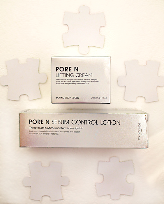 Young Shop Story Pore N – Sebum Control Lotion, Lifting Cream. Отзыв