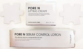 Young Shop Story Pore N – Sebum Control Lotion, Lifting Cream. Отзыв