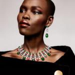 Модная деталь: колье и серьги в Vogue Paris June/July 2015